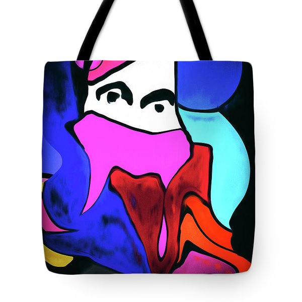 Untitled Work No. 1 Tote Bag by James Bethanis