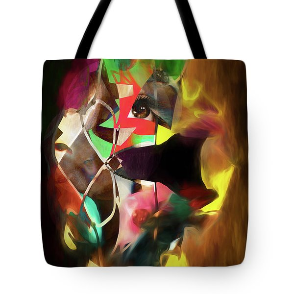 Untitled Work No. 3 Tote Bag by James Bethanis
