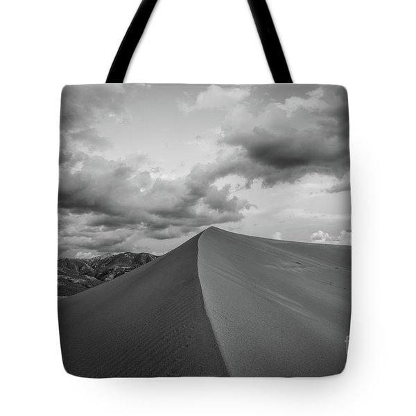 Untouched Bw Tote Bag