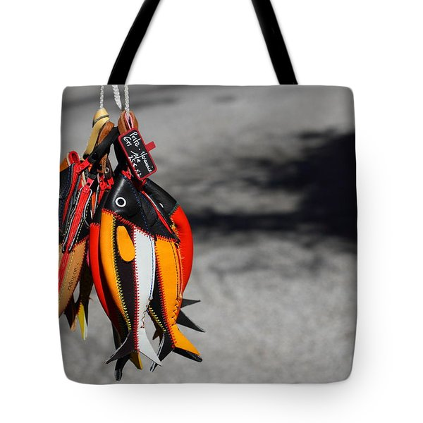 Tote Bag featuring the photograph Unusual Catch by Richard Patmore
