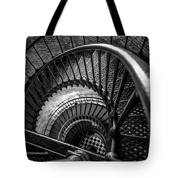 Unwind  - Currituck Lighthouse Tote Bag