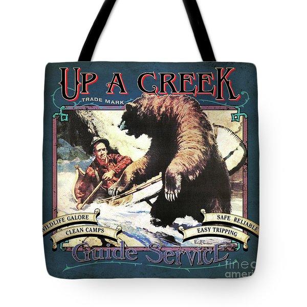 Up A Creek 1 Tote Bag