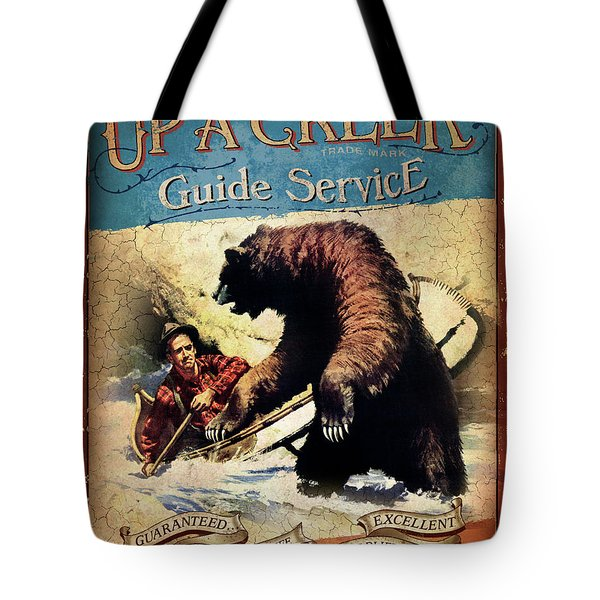 Up A Creek 2 Tote Bag by JQ Licensing