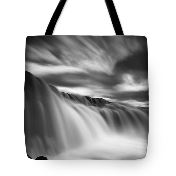 Up And Down Tote Bag by Dominique Dubied