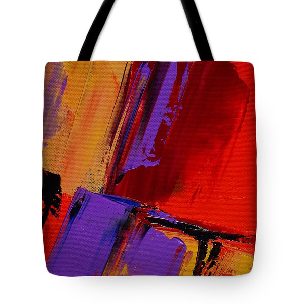 Up And Down - Art By Elise Palmigiani Tote Bag by Elise Palmigiani