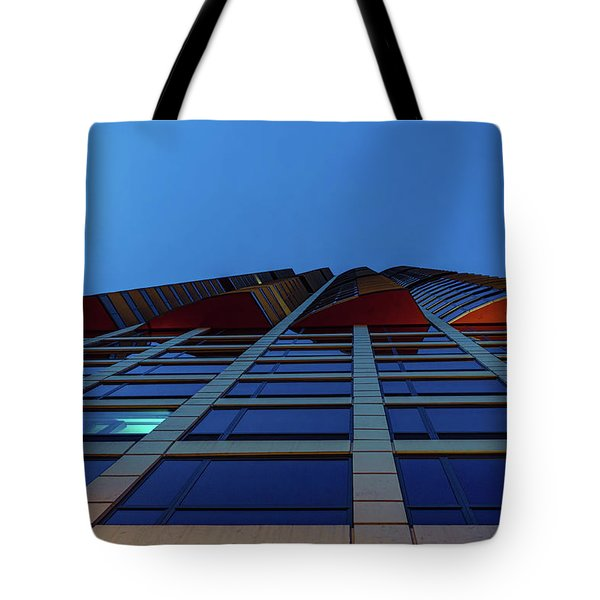Up Angles Tote Bag