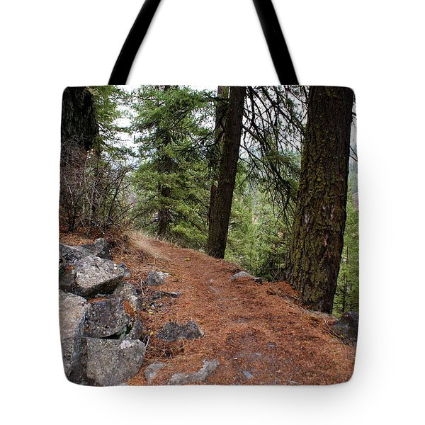 Tote Bag featuring the photograph Up Around The Bend... by Ben Upham III
