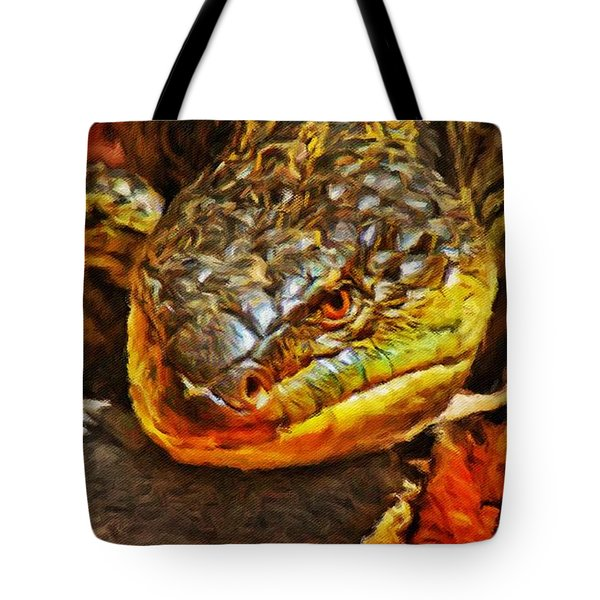 Up Close And Personal Tote Bag by Blair Stuart