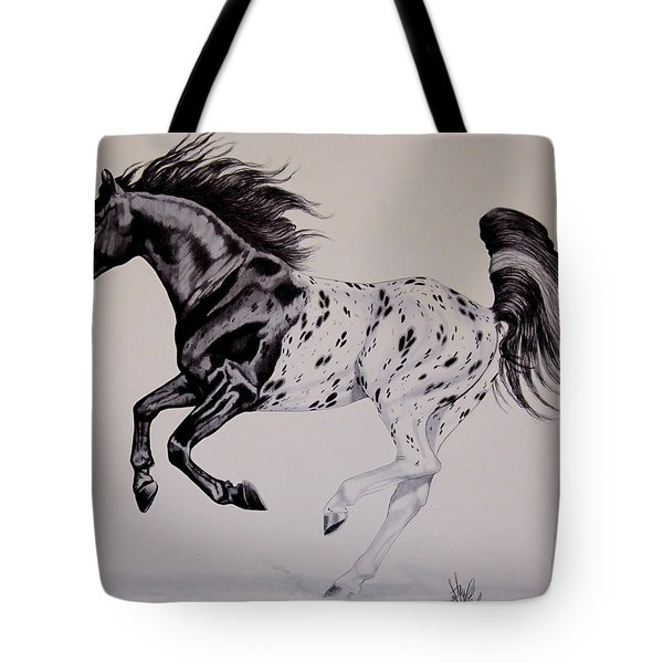 Up Close And Personal With Appaloosa's Tote Bag