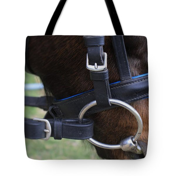 Up Close Bit Tote Bag by Roena King