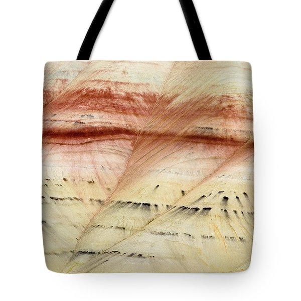 Tote Bag featuring the photograph Up Close Painted Hills by Greg Nyquist