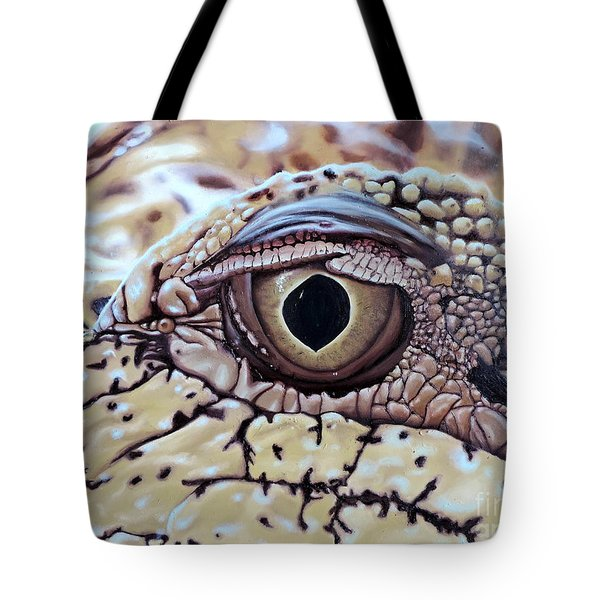 Up Closn 'n'personal Tote Bag by Dianna Lewis