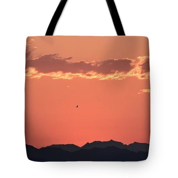 Up Early Tote Bag