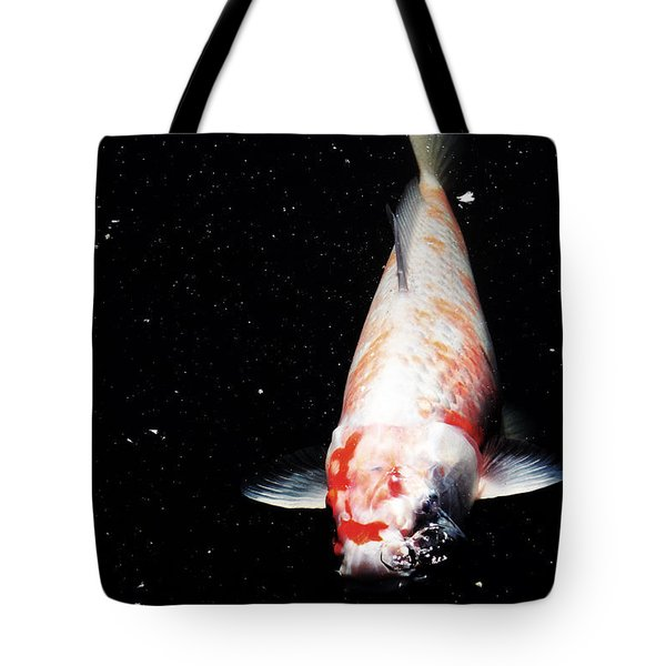 Tote Bag featuring the photograph Up For Air by Deborah  Crew-Johnson
