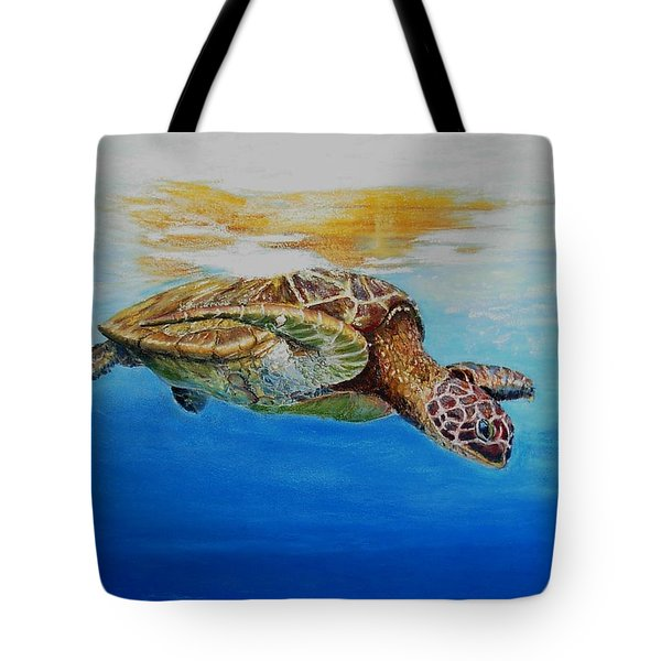 Up For Some Rays Tote Bag by Ceci Watson