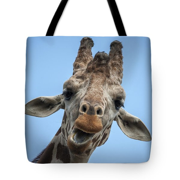 Up Here Tote Bag