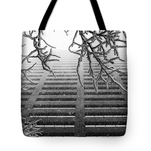 Up In The Snow Tote Bag