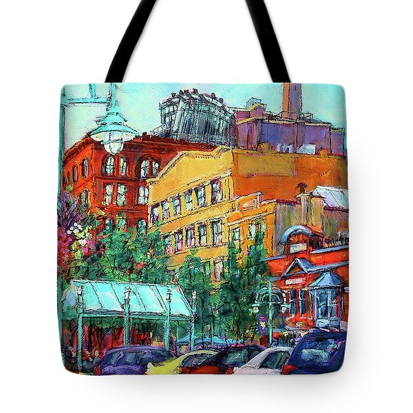 Up On Broadway Tote Bag