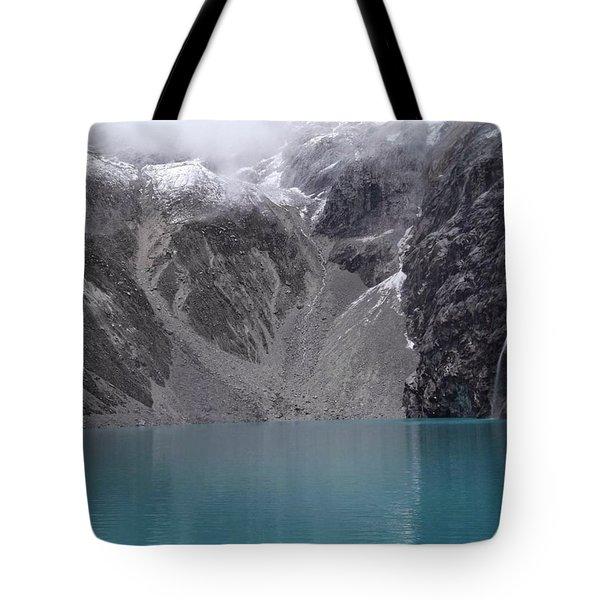 Glacial Pool Tote Bag