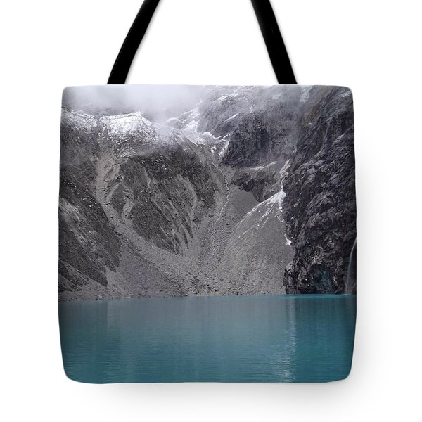 Glacial Pool Tote Bag