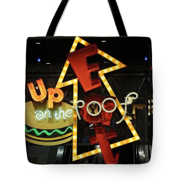 Tote Bag featuring the photograph Up On The Roof by Craig Wood