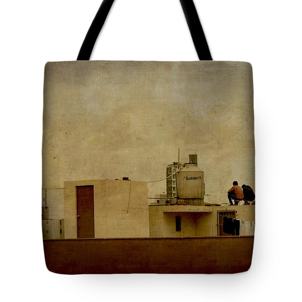Up On The Roof Tote Bag
