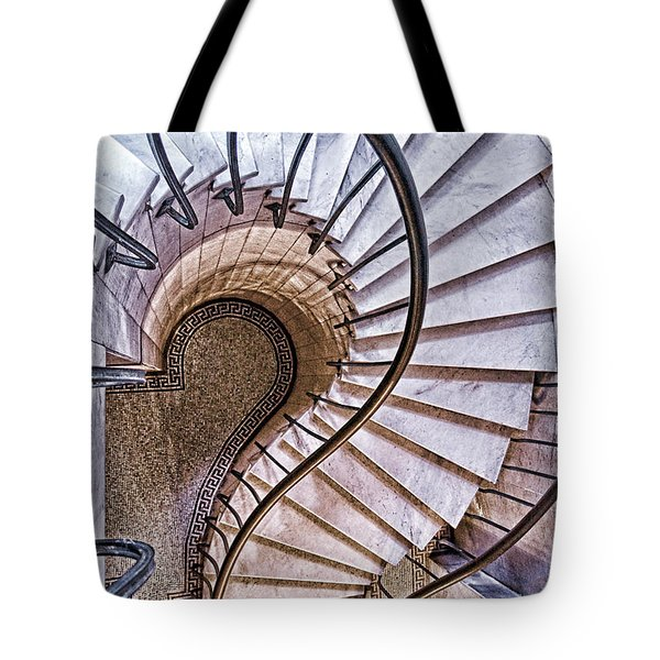 Up Or Down? Tote Bag by Tom Mc Nemar