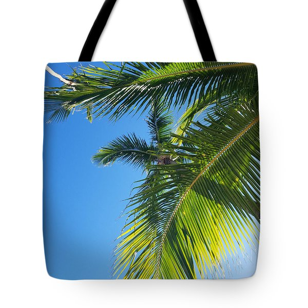Up-palm Tote Bag