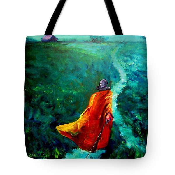 Up That Hill Tote Bag