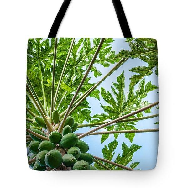 Up The Papaya Tote Bag