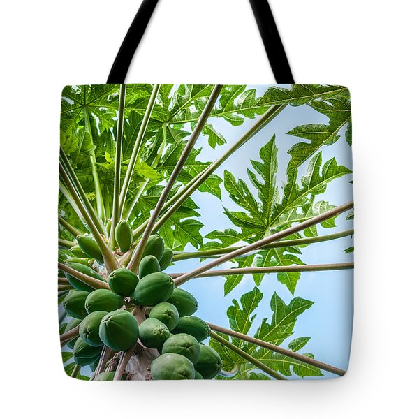 Up The Papaya Tote Bag