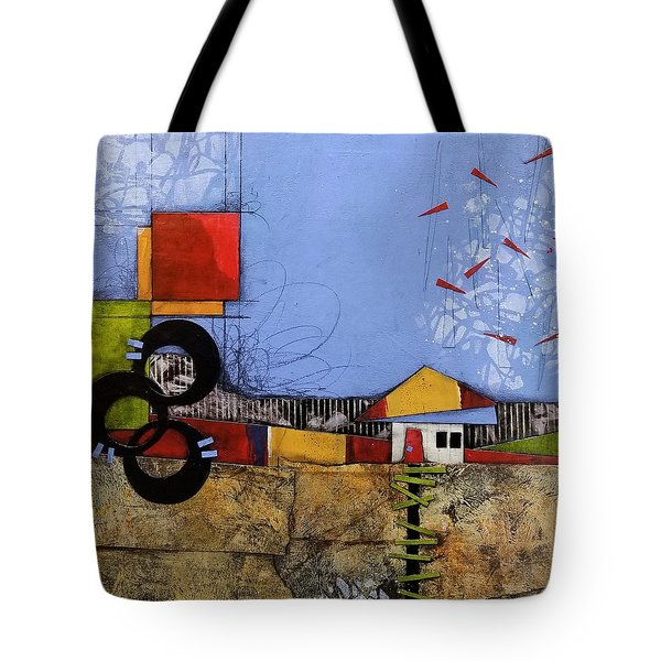 Up The Path Tote Bag