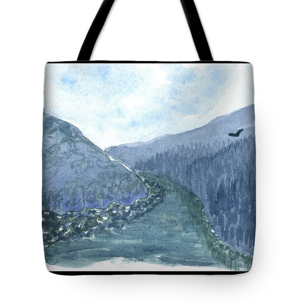 Up The River Tote Bag