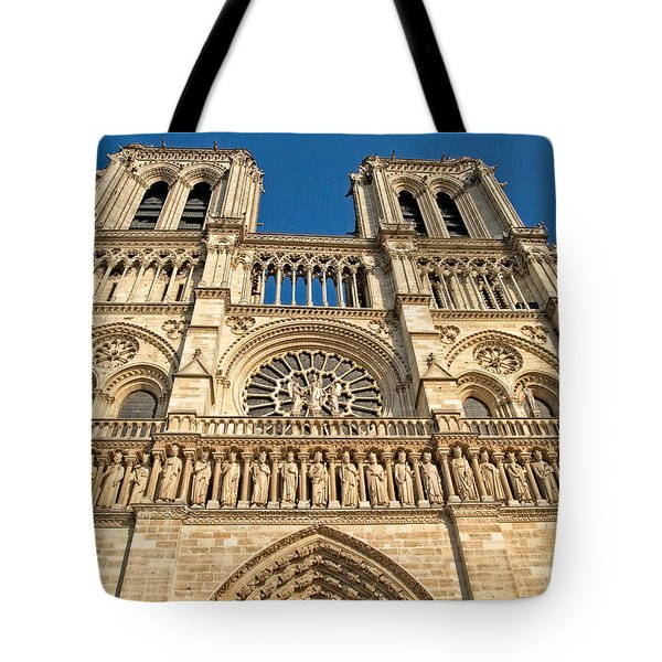 Tote Bag featuring the photograph Up The Towers by Kim Wilson