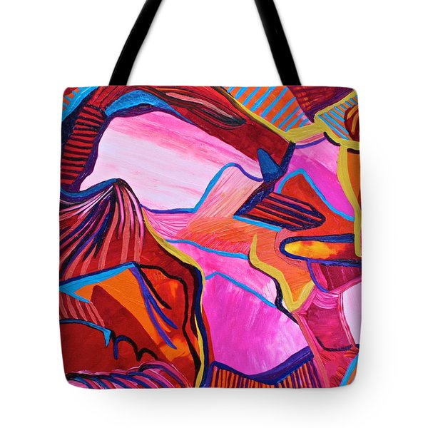 Up Through The Arch Tote Bag