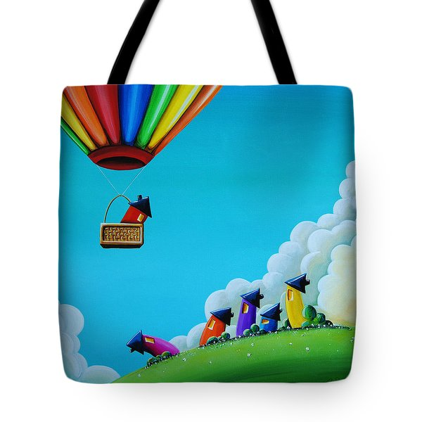 Up Up And Away Tote Bag by Cindy Thornton