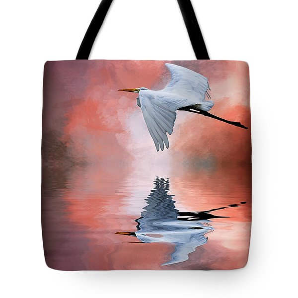 Up. Up And Away Tote Bag by Cyndy Doty