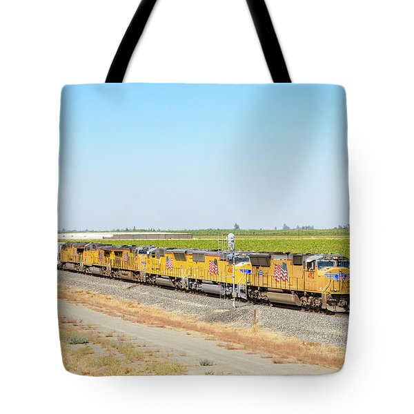 Tote Bag featuring the photograph Up4912 by Jim Thompson