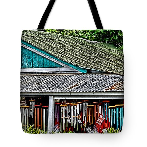 Upcountry Chimes Tote Bag