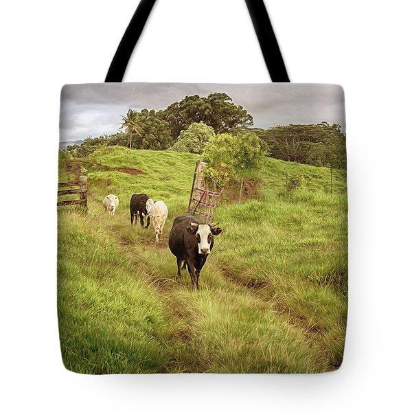 Upcountry Ranch Tote Bag