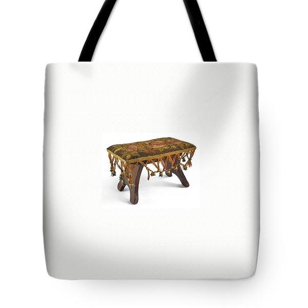 Upholstered  Cricket  Footstool Tote Bag