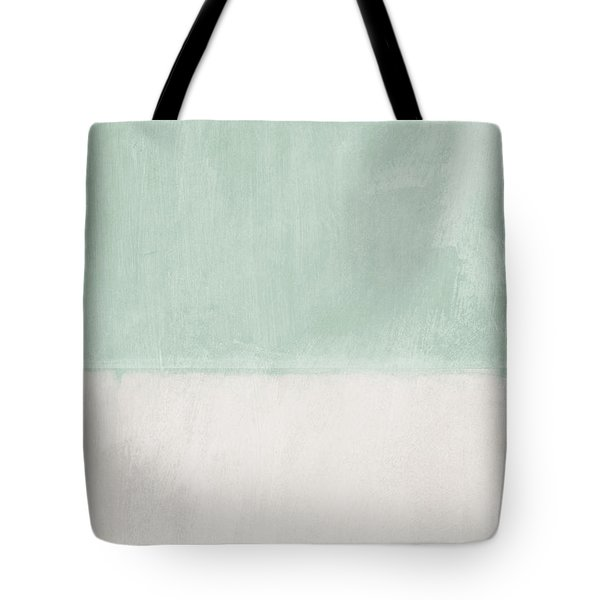 Upon Our Sighs 2- Abstract Art Tote Bag