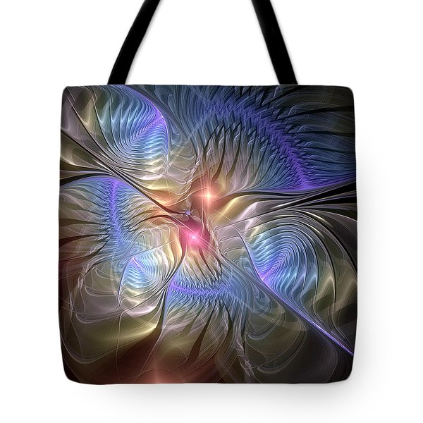 Upon The Wings Of Music Tote Bag