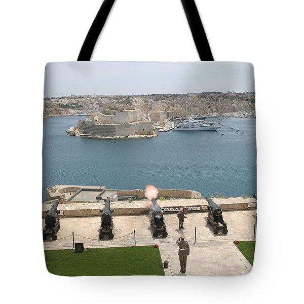 Upper Barrakka Saluting Battery Tote Bag