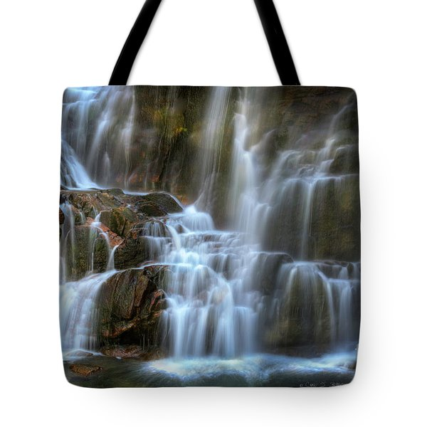 Upper Beartooth Falls Tote Bag