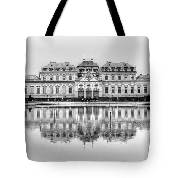 Tote Bag featuring the photograph Upper Belvedere Palace, Vienna by David Birchall