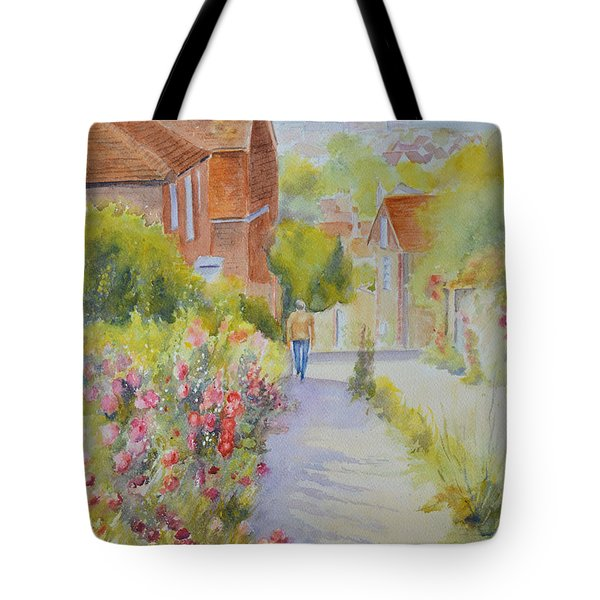 Upper Church Hill 2015 Hythe Tote Bag by Beatrice Cloake