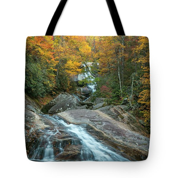 Upper Creek Autumn Paradise Tote Bag