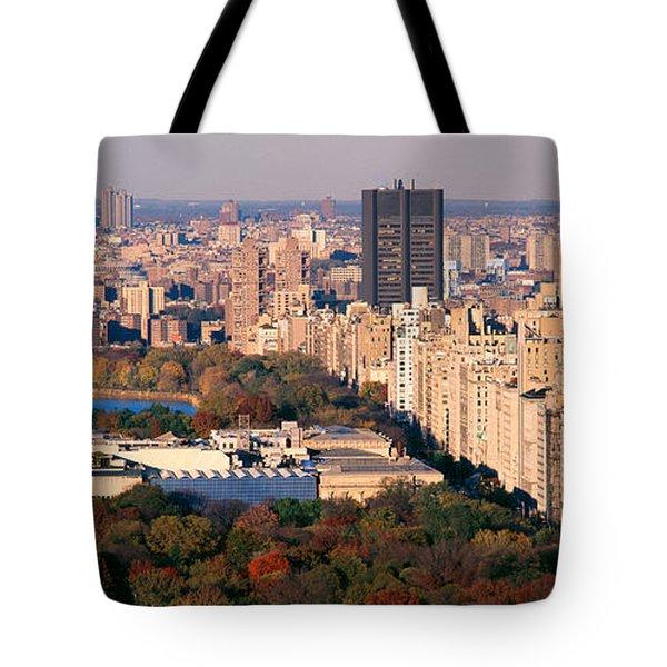 Upper East Side Central Park New York Tote Bag