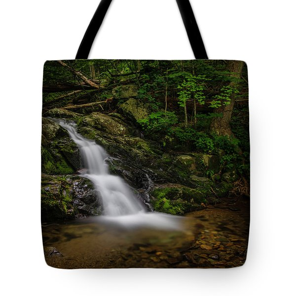 Tote Bag featuring the photograph Upper Falls On Doyle River by Ronald Santini